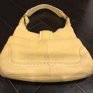 AUTHENTIC YELLOW SATCHEL. SUMMER TIME BAG